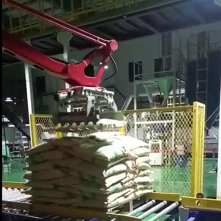 165kg Rice palletizing