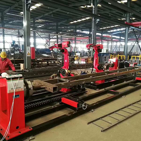 steel structure welding production line